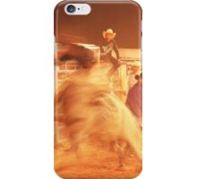 Rodeo Bull Riding iPhone Case/Skin