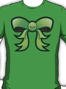 Cute Green Kawaii Bow T-Shirt
