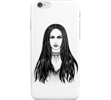 Gothic girl iPhone Case/Skin
