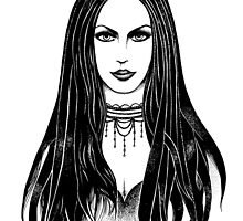 Gothic girl by Eugenia Hauss