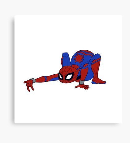 The Amazing Manspider! Canvas Print