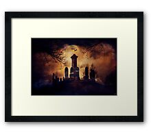 The Circle Of Stones Framed Print