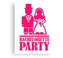 Bachelorette Party Canvas Print