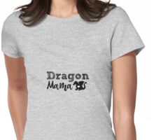 Dragon Mama  Womens Fitted T-Shirt