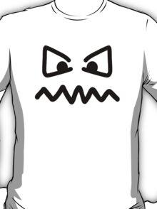 Angry eyes face T-Shirt