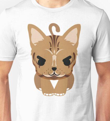 Bengal Cat Emoji Naughty and Cheeky Look Unisex T-Shirt