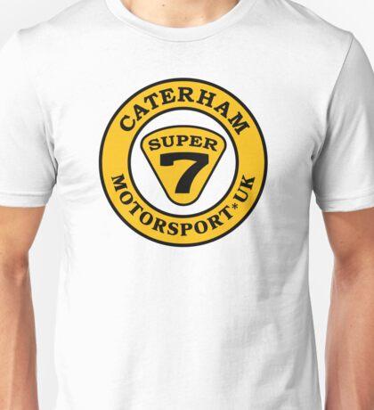 Caterham SUPER 7 UK Motorsport BLK Unisex T-Shirt