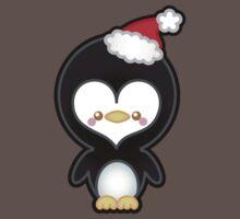 Cute Kawaii Christmas Penguin Kids Clothes