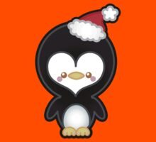 Cute Kawaii Christmas Penguin Kids Clothes