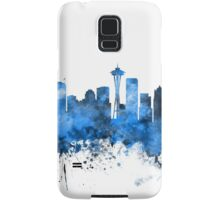 Seattle Washington Skyline Samsung Galaxy Case/Skin