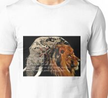 ~Africa in white~ (snippet) Unisex T-Shirt