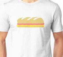 Ham cheese baguette sandwich Unisex T-Shirt