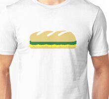 Cheese salad sandwich baguette Unisex T-Shirt