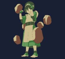 Minimalist Toph from Avatar the Last Airbender Kids Clothes