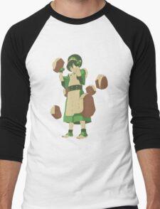 Minimalist Toph from Avatar the Last Airbender Men's Baseball ¾ T-Shirt
