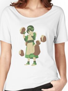 Minimalist Toph from Avatar the Last Airbender Women's Relaxed Fit T-Shirt