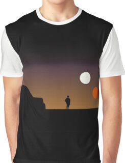 The Double Sunset... Graphic T-Shirt