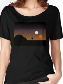 The Double Sunset... Women's Relaxed Fit T-Shirt