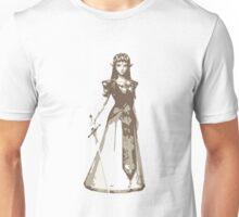 Minimalist Zelda from The Legend of Zelda Unisex T-Shirt