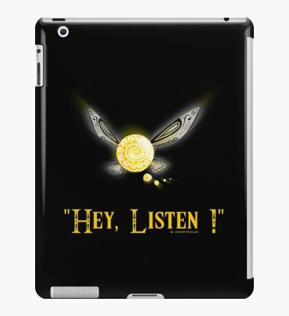 Hey Listen - Navi the Fairy iPad Case/Skin
