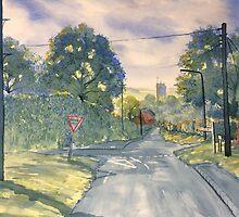 Approach to Kilham by Glenn Marshall