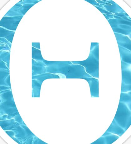 Theta-water Sticker