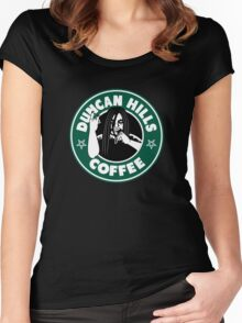 Duncan Hills Coffee Women's Fitted Scoop T-Shirt