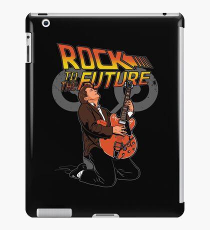 Rock to the future iPad Case/Skin