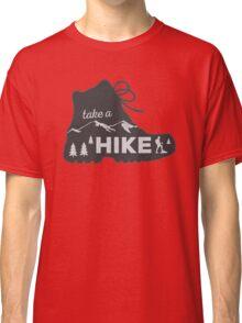 Take a Hike - Hiking Sticker Classic T-Shirt