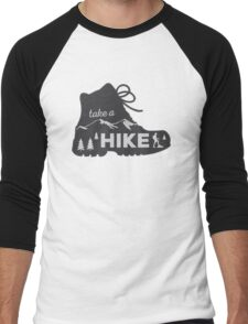 Take a Hike - Hiking Sticker Men's Baseball ¾ T-Shirt
