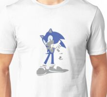 Minimalist Sonic from Super Smash Bros. Brawl Unisex T-Shirt