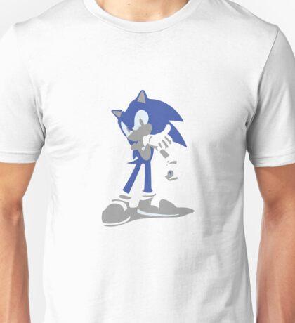 Minimalist Sonic from Super Smash Bros. Brawl Unisex T-Shirt