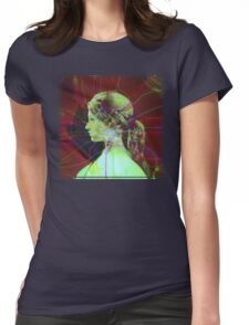 Abstract, Fractal Female Womens Fitted T-Shirt