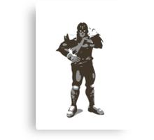 Minimalist Captain Falcon from Super Smash Bros. Brawl Canvas Print