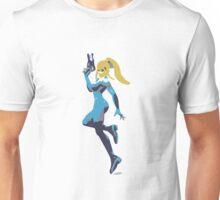 Minimalist Zero Suit Samus from Super Smash Bros. Brawl Unisex T-Shirt