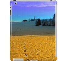 Colorful winter wonderland scenery | landscape photography iPad Case/Skin