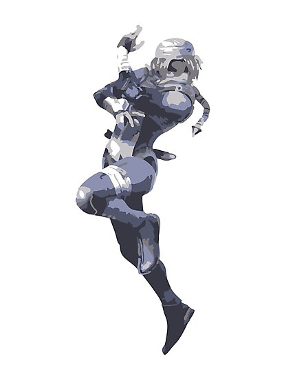 Minimalist Sheik from Super Smash Bros. Brawl by Himehimine