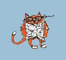 Cat Reading the News Unisex T-Shirt