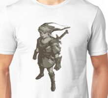 Minimalist Link from The Legend of Zelda Unisex T-Shirt