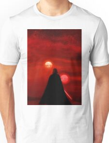 Star Wars Darth Vader Tatooine Sunset  Unisex T-Shirt