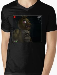 Chica on Stage Mens V-Neck T-Shirt