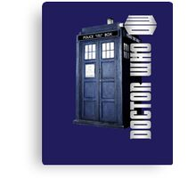 DW. DOCTOR WHO TARDIS Canvas Print