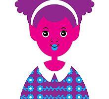 Girl 22 - Pink Alien by TabithaBianca