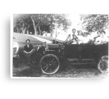 Milnes (American) Family Car Canvas Print