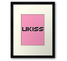 U-KISS 3 Framed Print