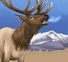 Mountain Elk by TB-Samurai