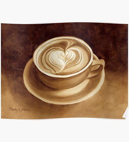 Heart Latte II Poster
