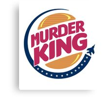MURDER KING Canvas Print