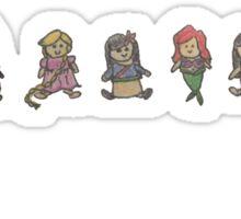 Princess Plushies Sticker