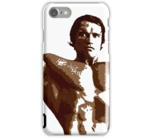 Arnold Schwarzenegger - Front Double Biceps Pose iPhone Case/Skin